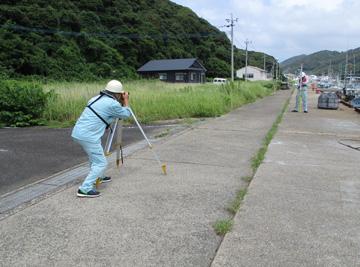 縦横断測量