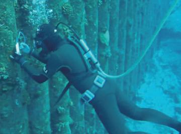構造物潜水調査